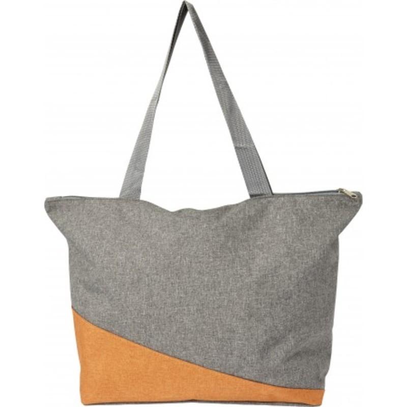 Poly canvas shopping bag