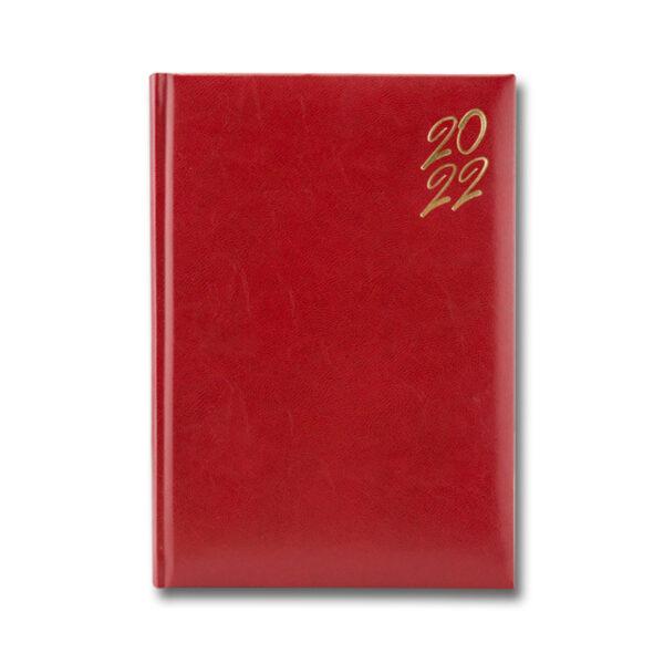 AGENDA 460 NEW KARACHI GOLD ROSSO CILIEGIA, ZILNICA 15x21 cm