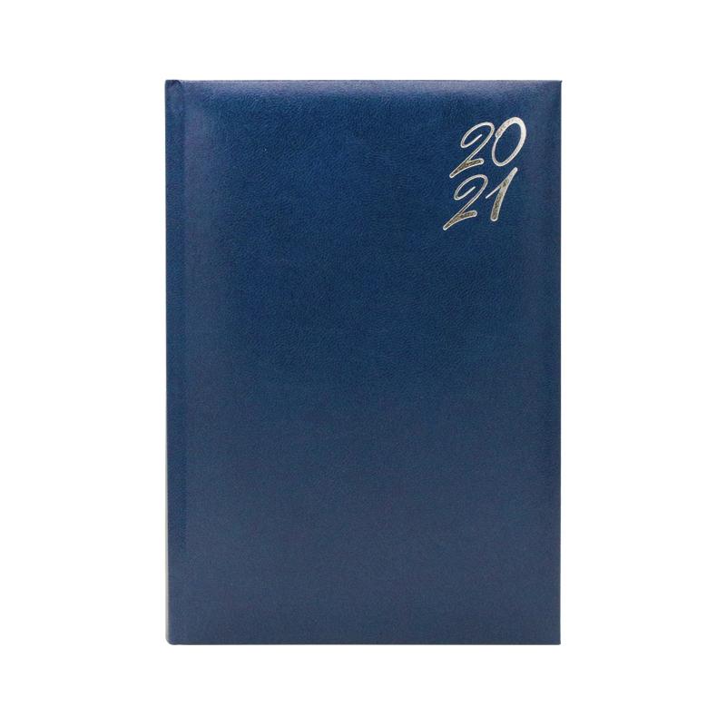 Agenda 460 New Karachi Silver Blu, zilnica 15 x 21 cm