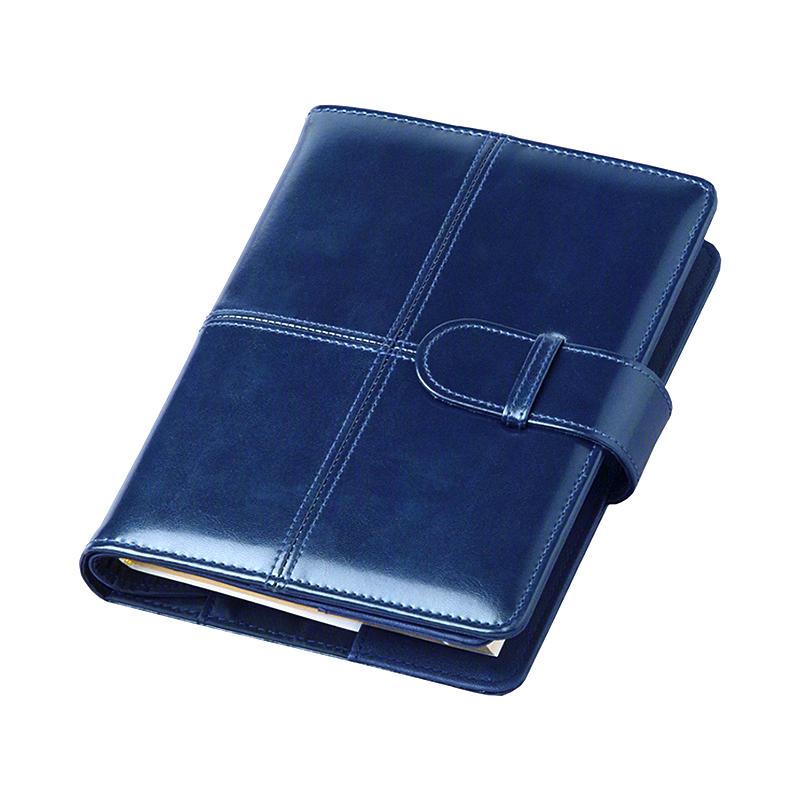 Agenda de lux cu clapă Bluette Blu, 15 x 21 cm
