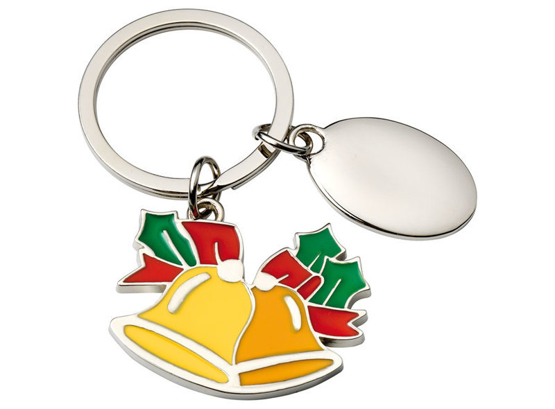 KEYCHAIN CHRISTMAS BELL