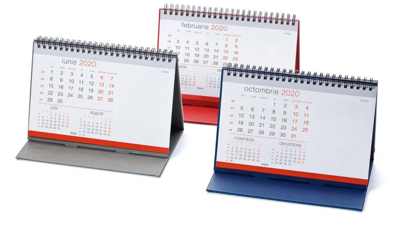 Calendar de birou CARO CV11 rosu