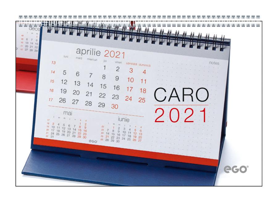 Calendar de birou CARO CV3 albastru
