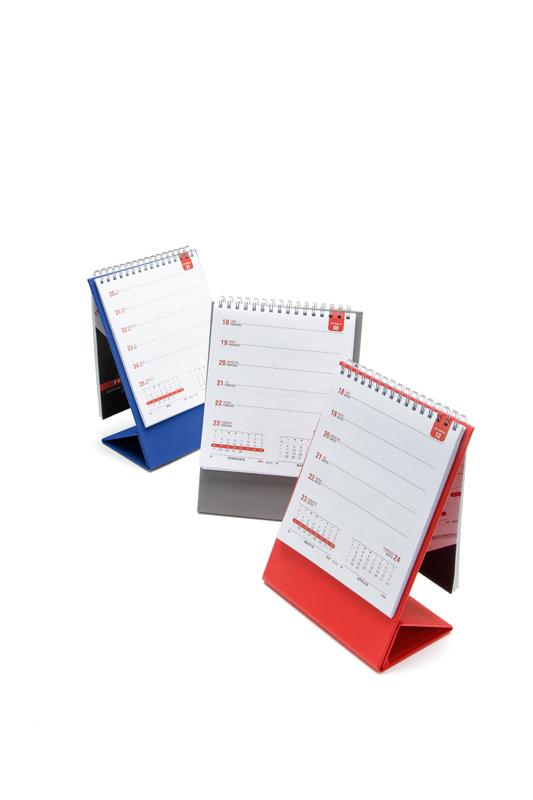 Calendar de birou PRISMA VR2 albastru