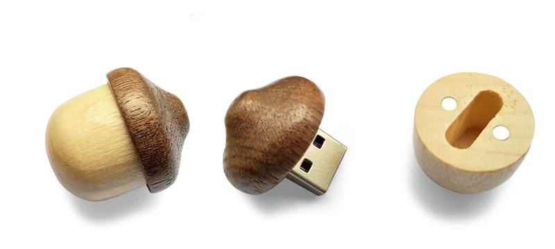 USB flash drive INDIWOOD 16 GB