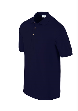 ULTRA COTTON™ ADULT PIQUE POLO SHIRT- NAVY - L