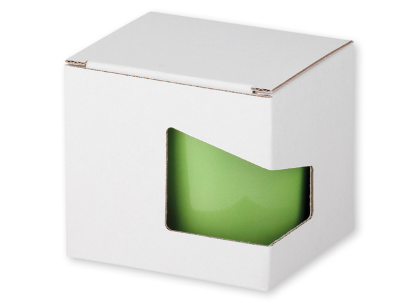 GB MOCCA paper gift box, White