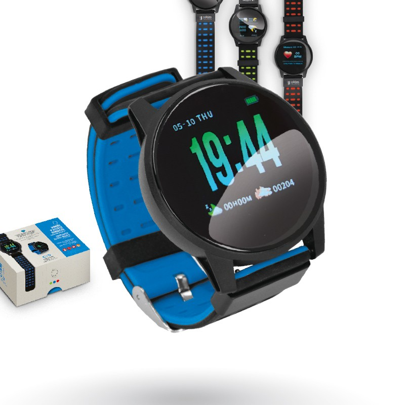 COLOR SCREEN CONNECTED BRACELET WITH OXIMETER AND BLOOD PRESURE MONITOR