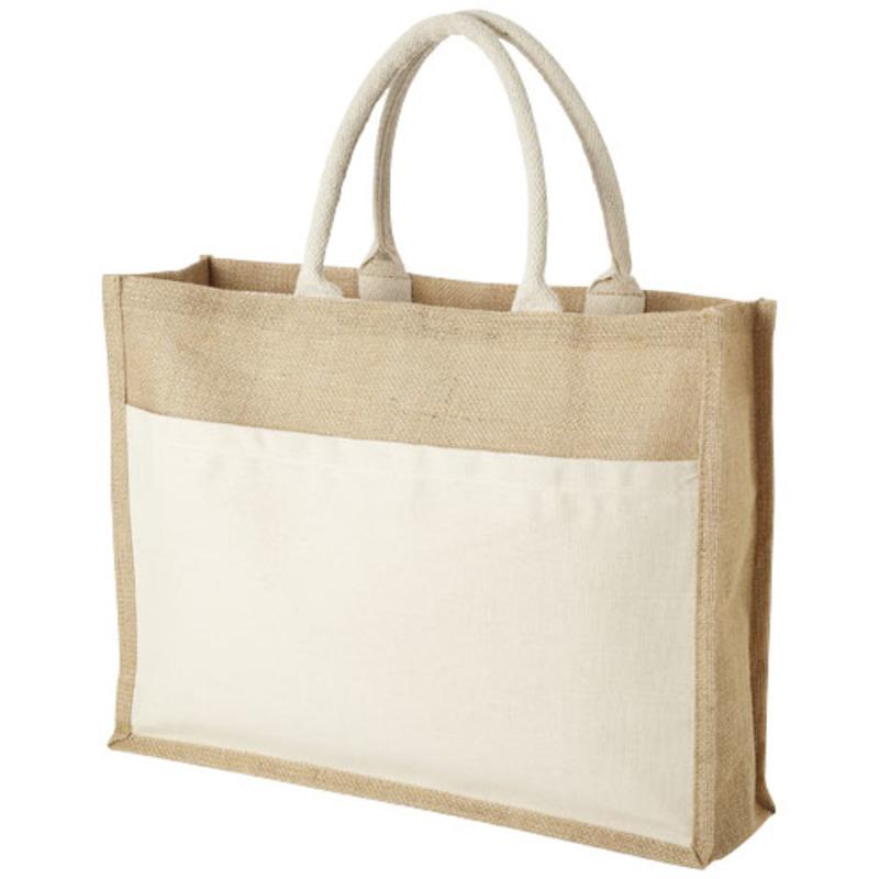 Mumbay tote bag made from jute