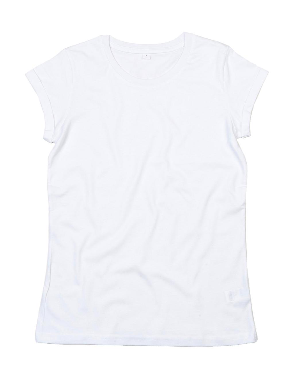 Women's Organic Roll Sleeve T