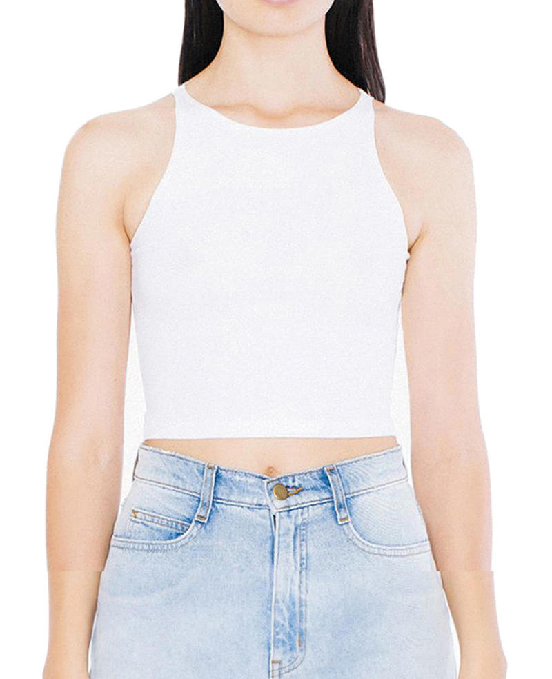 Women's Sleeveless Crop Top