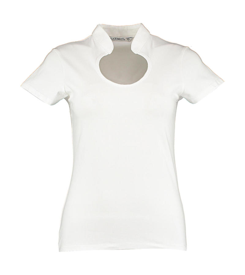 Regular Fit Keyhole Neck Top