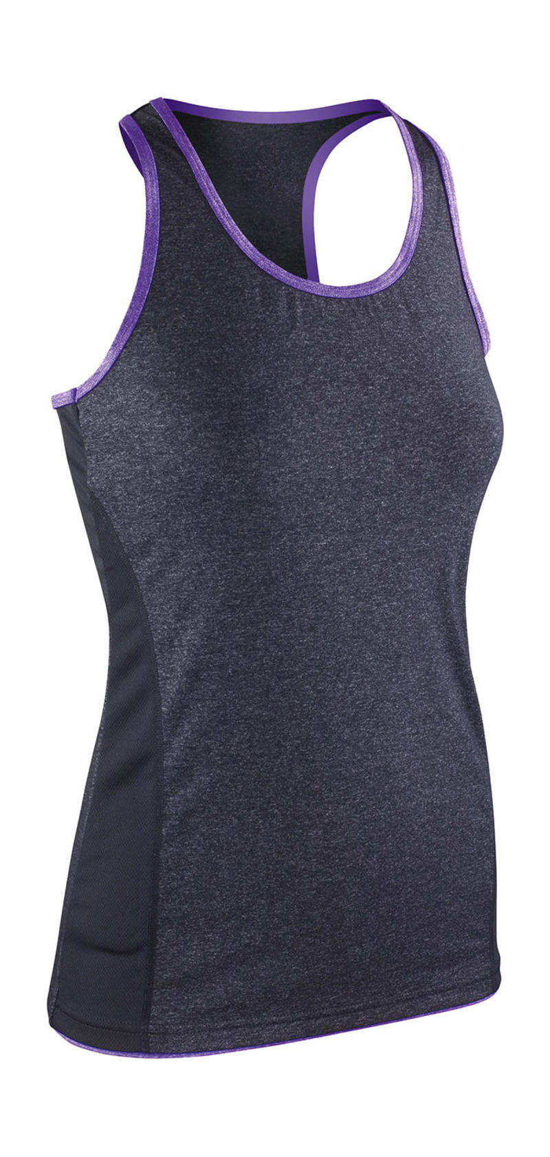 Fitness Women's Stringer Back Marl Top