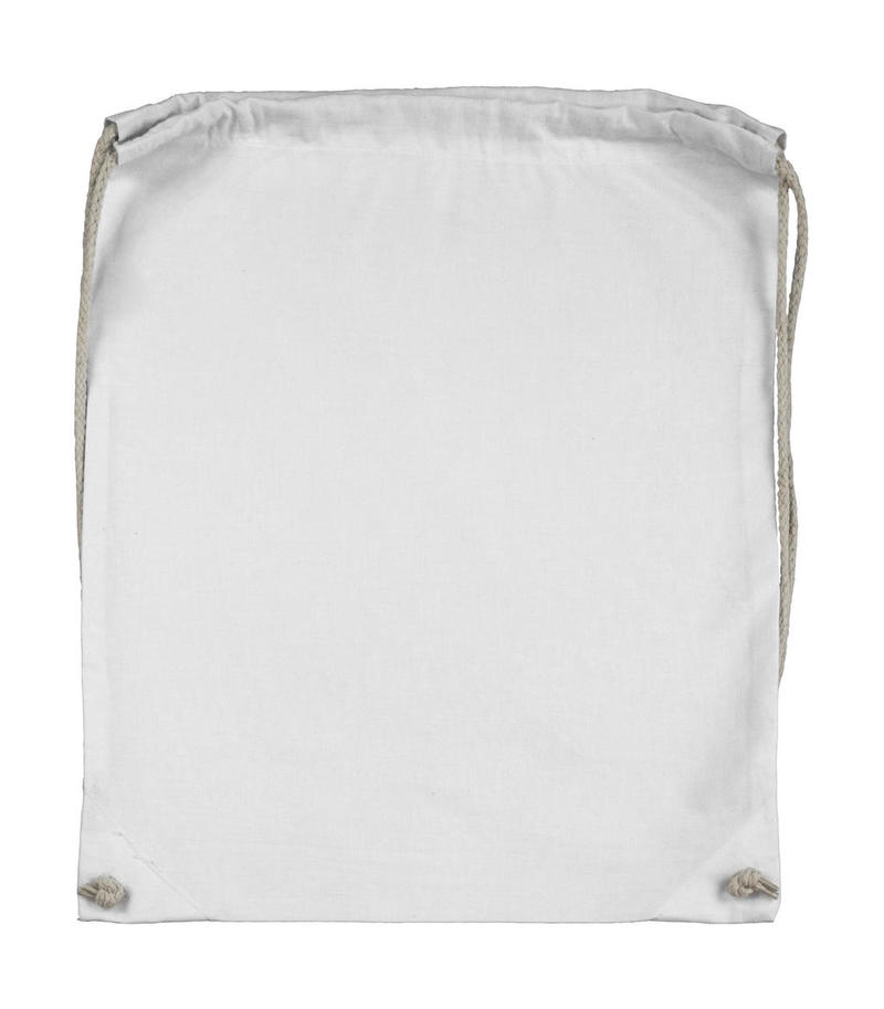 Organic Cotton Drawstring Backpack