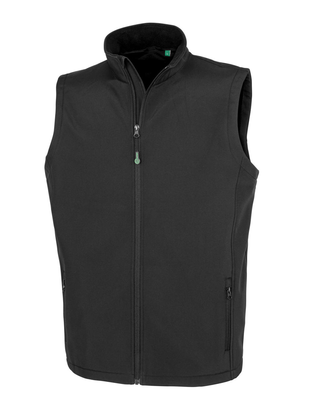 Men's Recycled 2-Layer Printable Softshell B/W