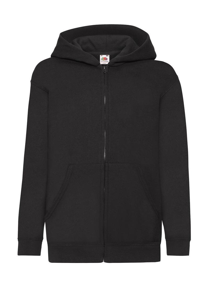 Kids Classic Hooded Sweat Jacket