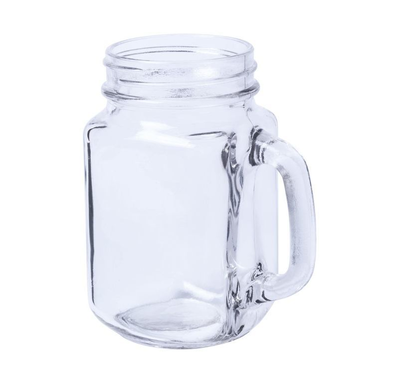 Meltik mason jar drinking glass
