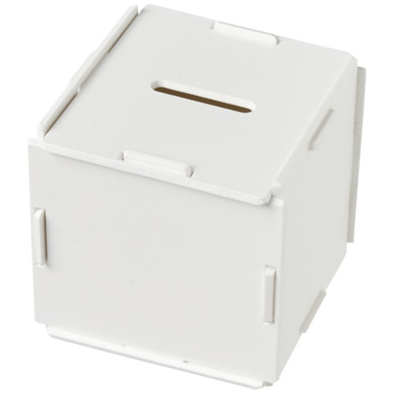 Collect square-shaped plastic money box
