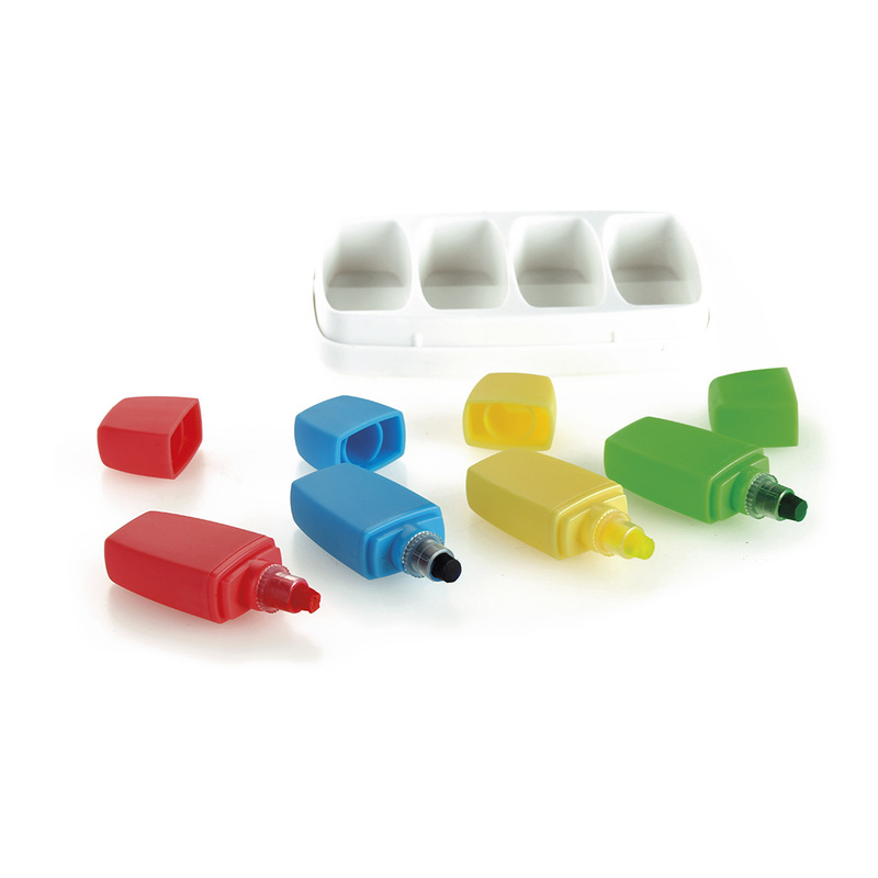 SET OF 4 HIGHLIGHTERS CRAYONS