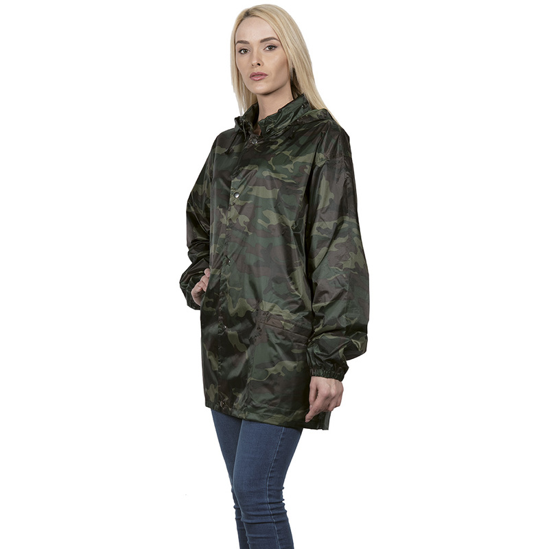 CAMOUFLAGE RAIN PROOF JACKET