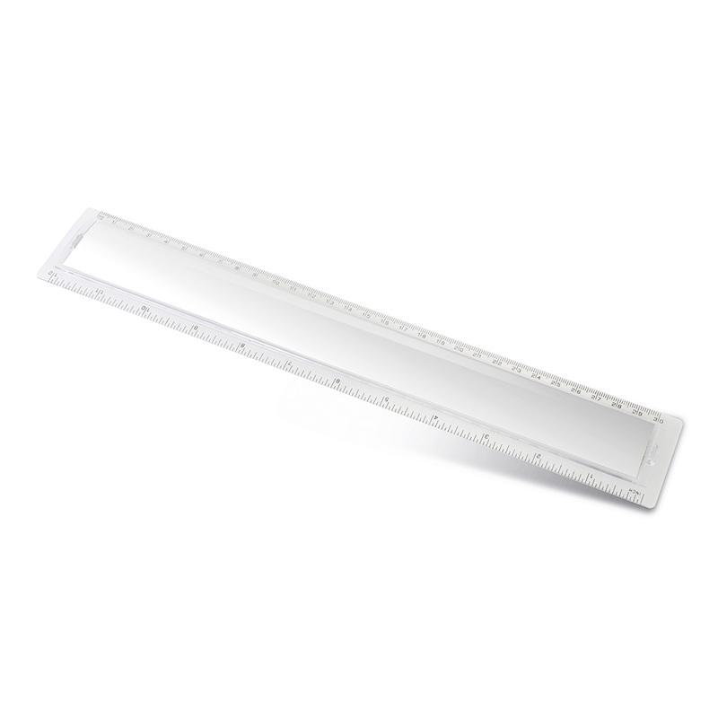 TRANSPARENT PLASTIC RULER