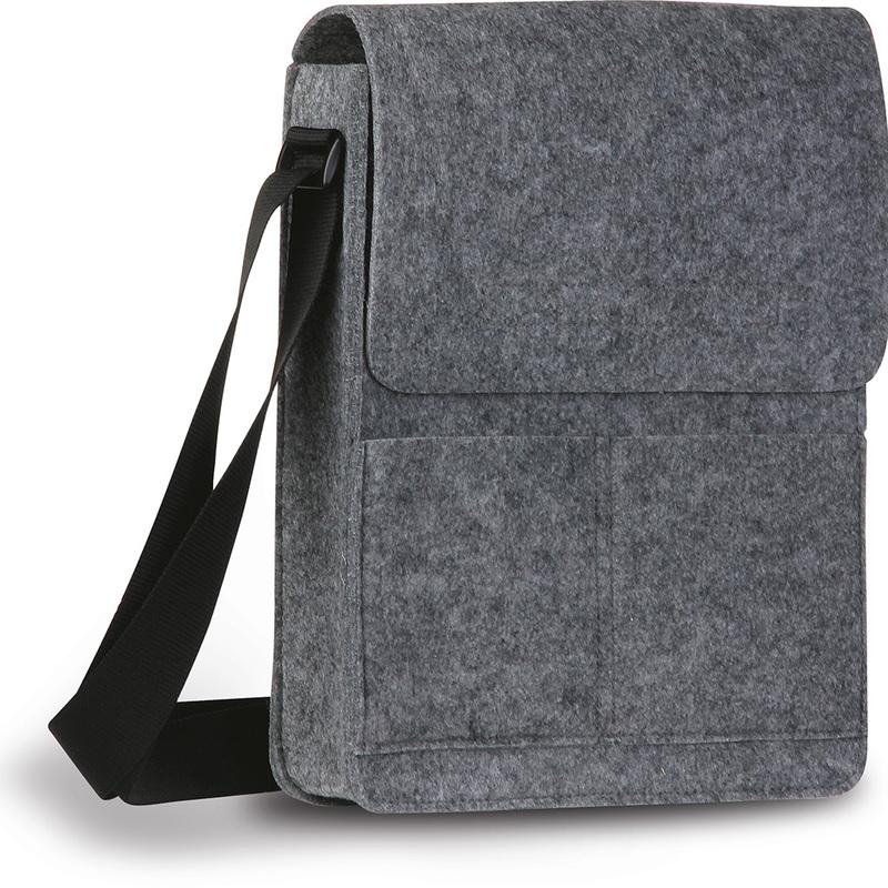 FELT SHOULDER BAG