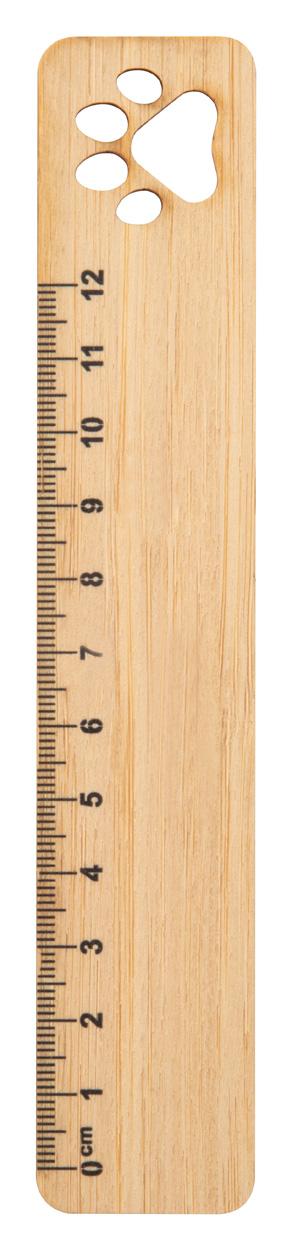 Rooler bamboo ruler, paw