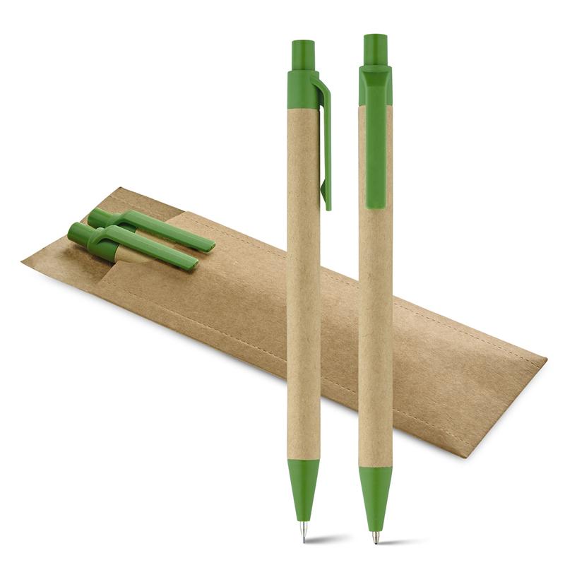 LEAF. Ball pen and mechanical pencil set
