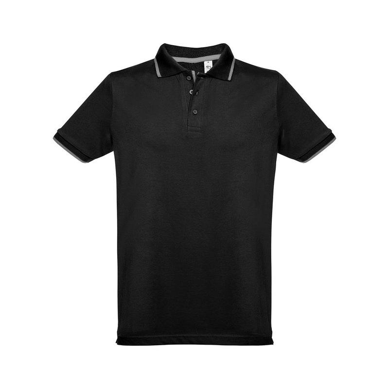 ROME. Men's slim fit polo shirt
