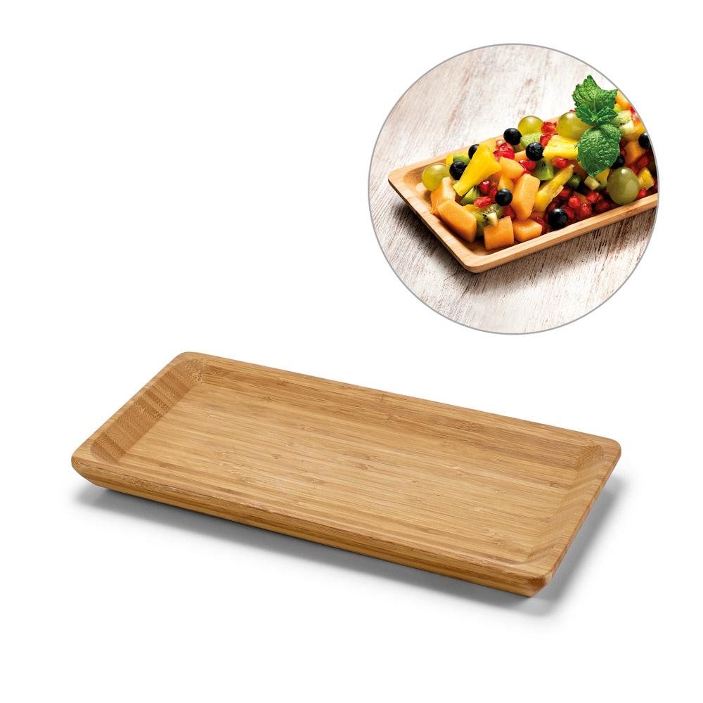 MUSTARD. Bamboo tray
