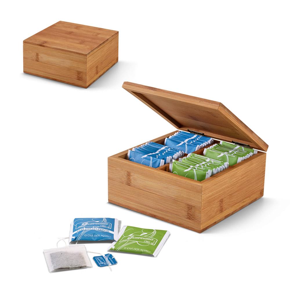 ARNICA. Bamboo tea box