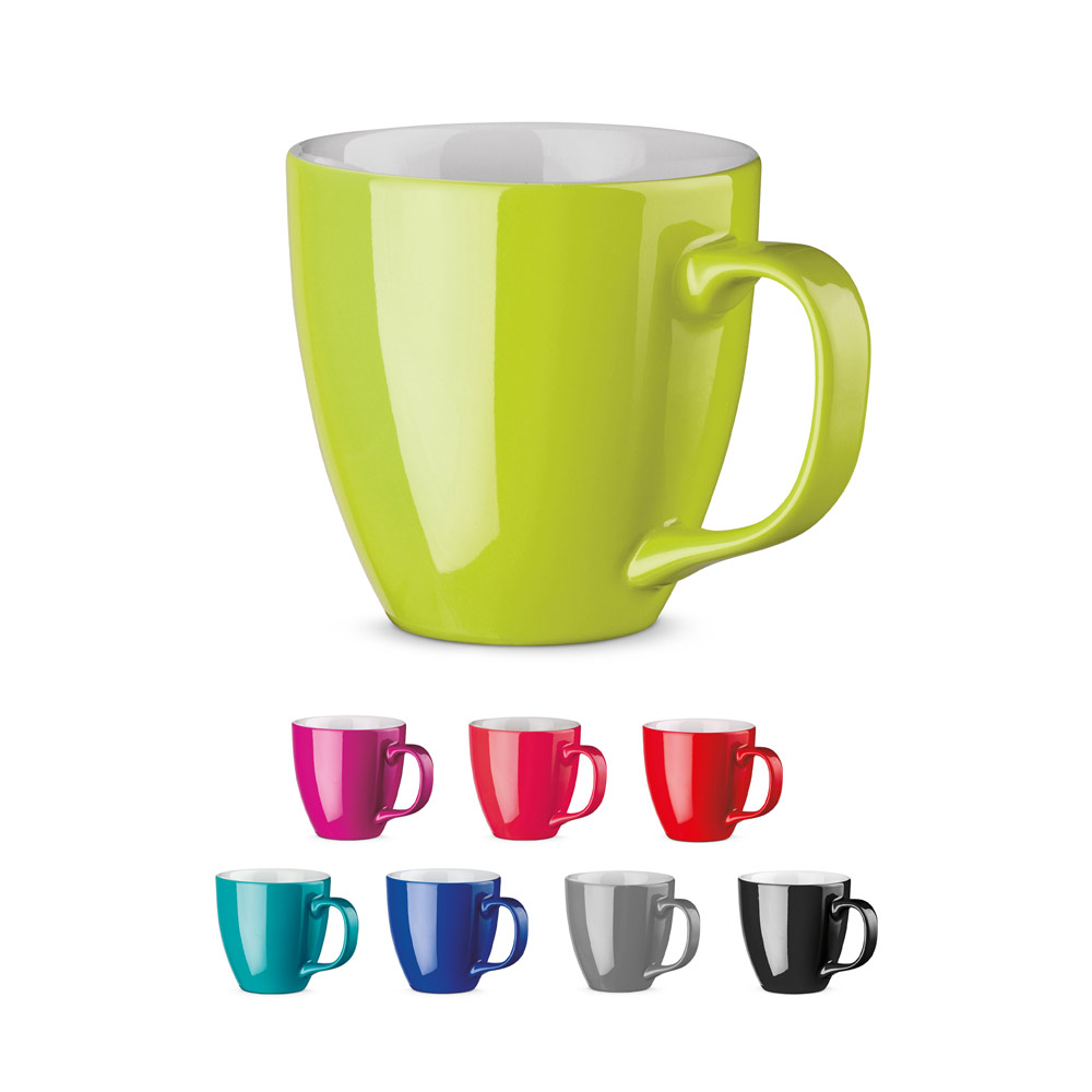 PANTHONY. Porcelain mug 450 ml