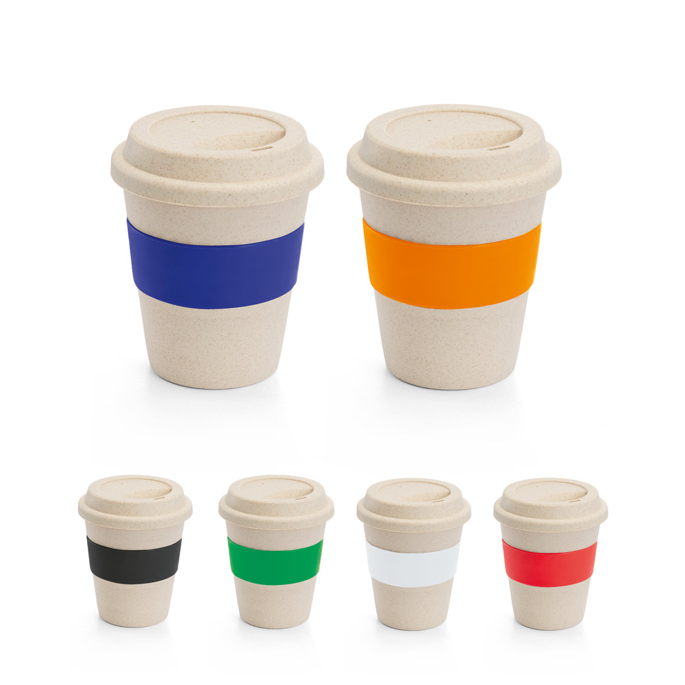 LATTE. Travel cup with lid 380 ml