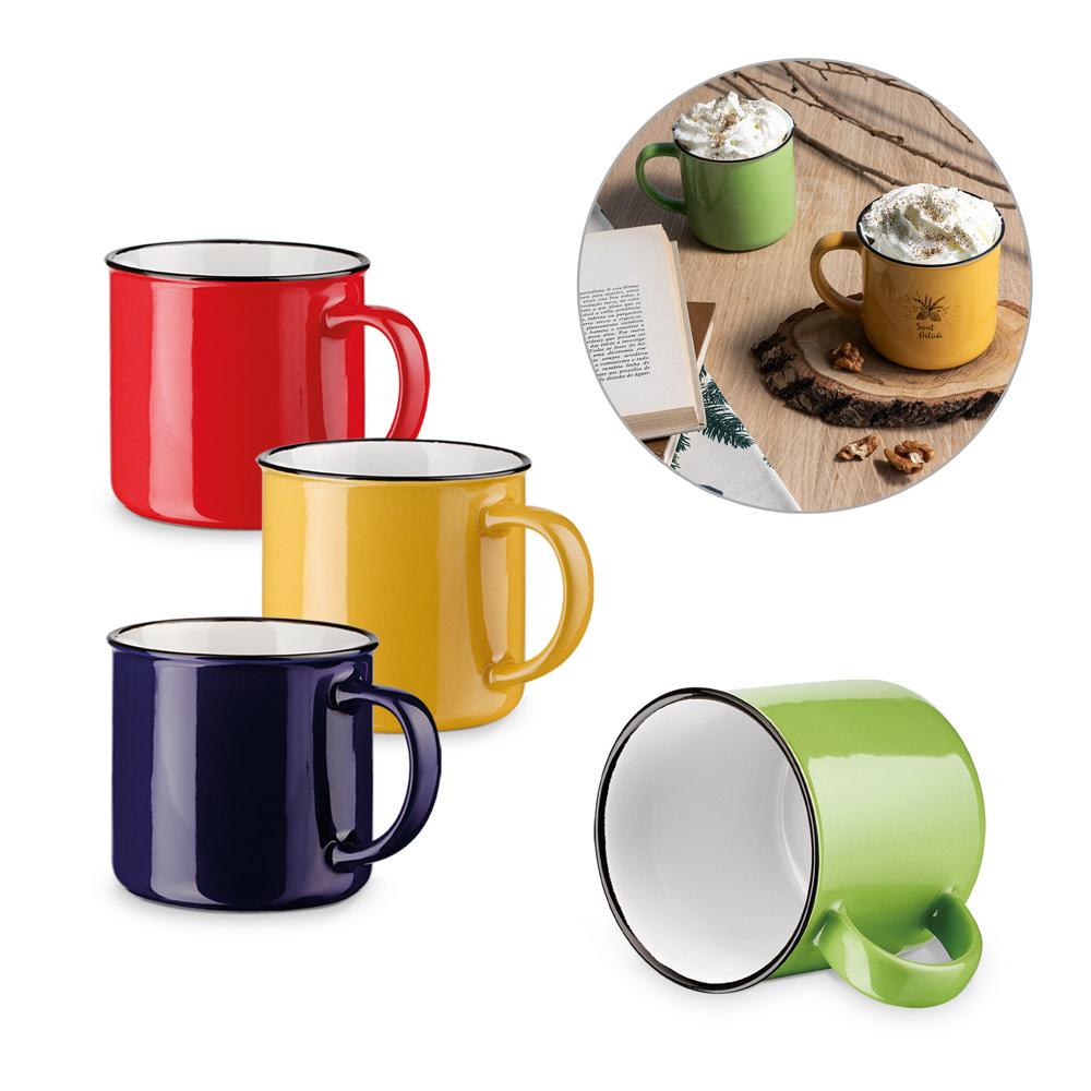 VERNON. Ceramic mug 360 ml