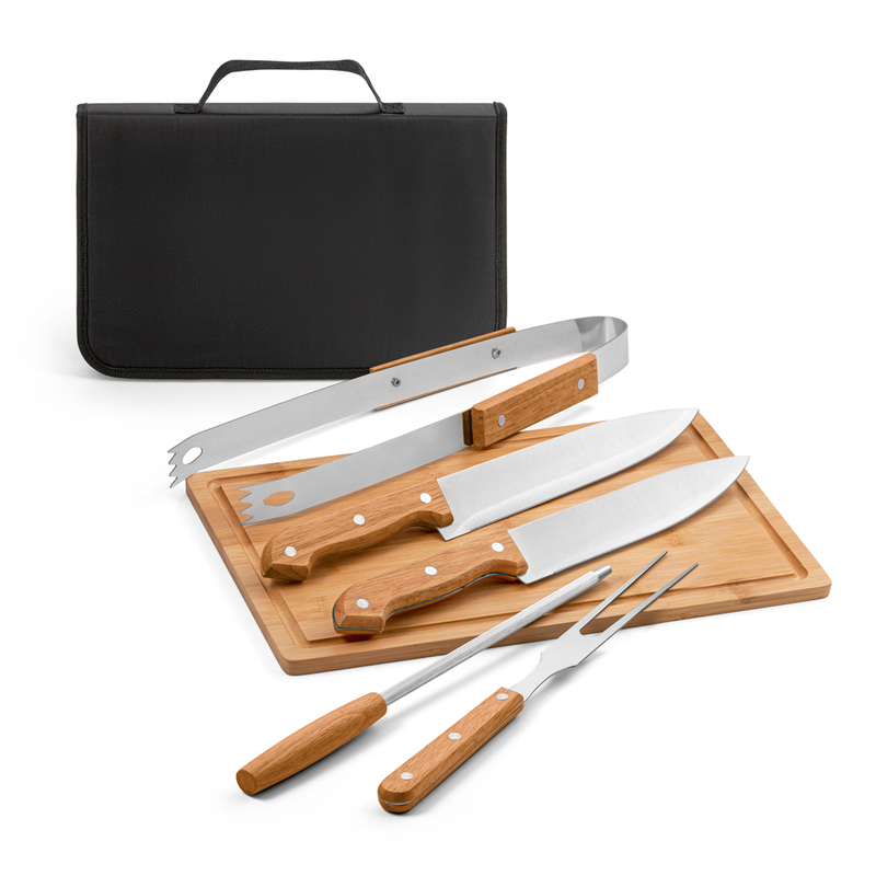 FLARE. Barbecue set