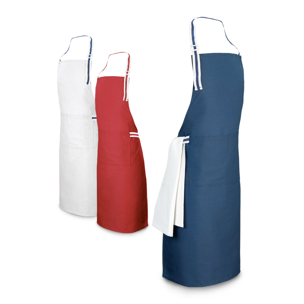 GINGER. Apron in cotton and polyester