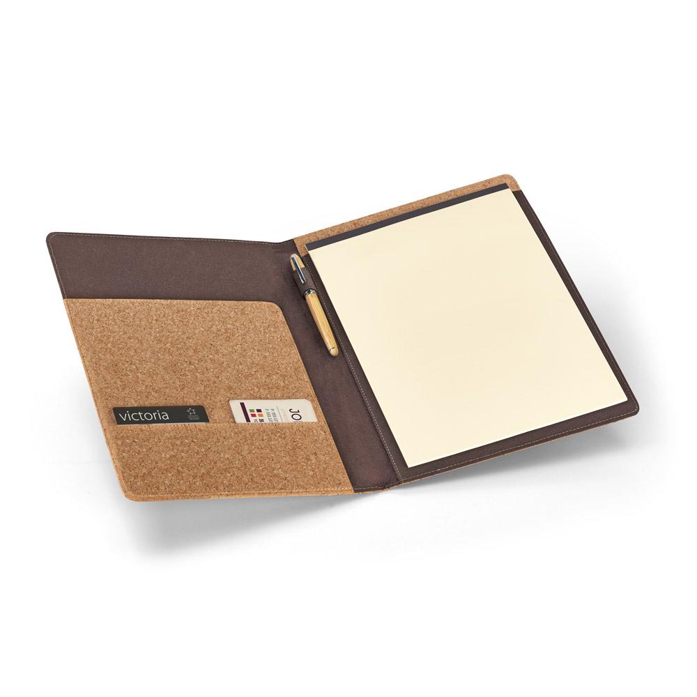 SERPA. A4 folder in cork