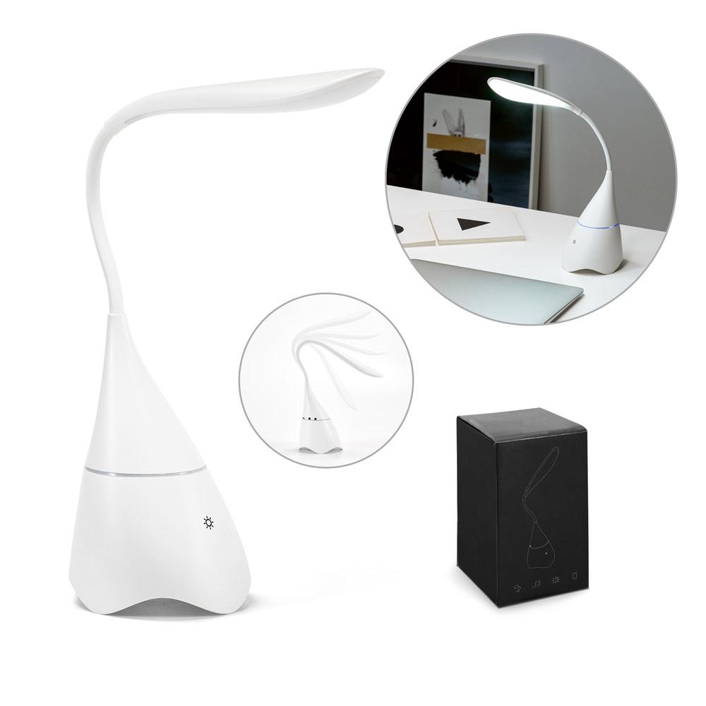 GRAHAME. Desk lamp with speaker