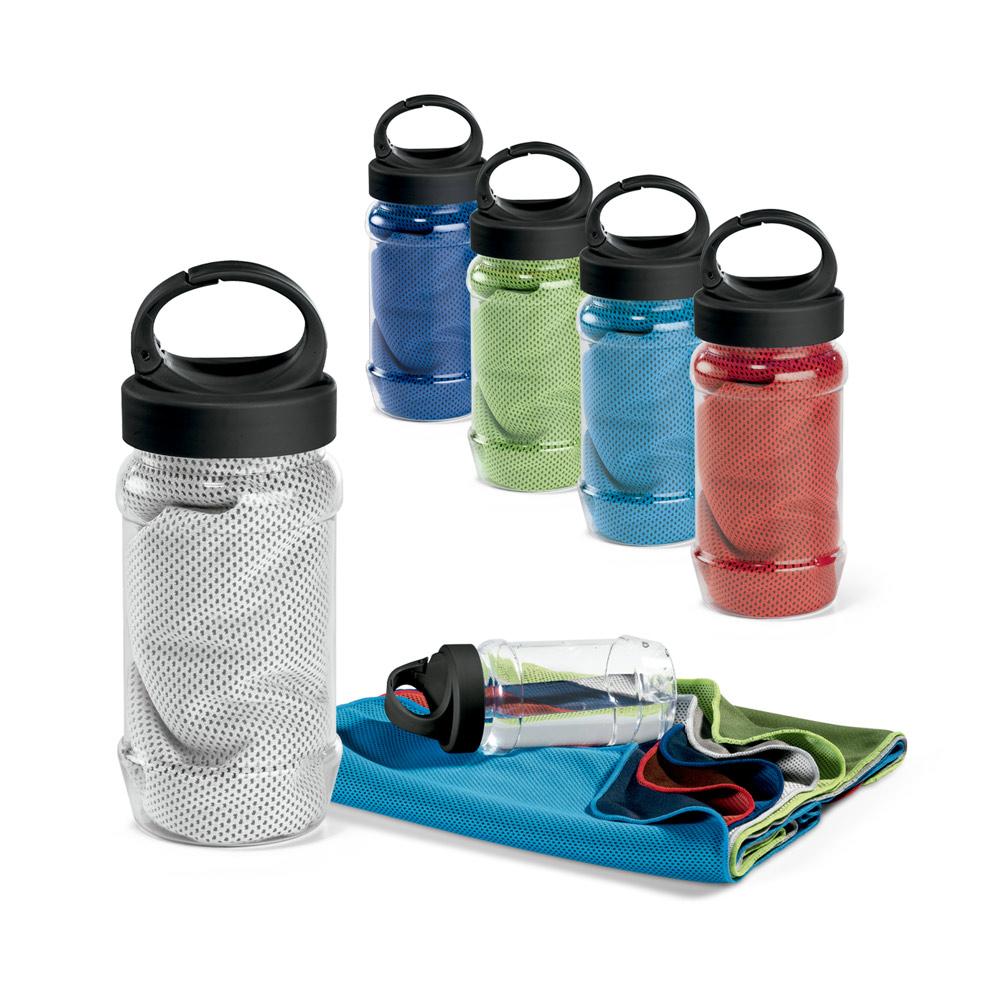 ARTX PLUS. Sports towel with bottle