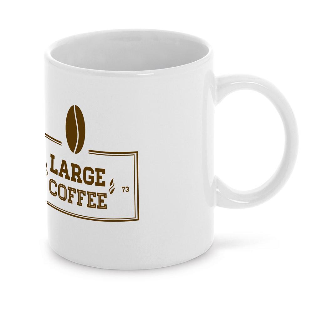 CURCUM. Ceramic mug 350 ml