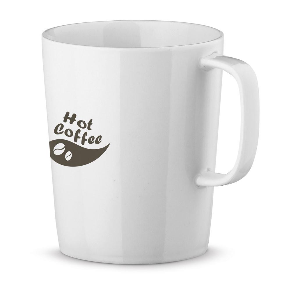 NELS WHITE. Porcelain mug 320 ml