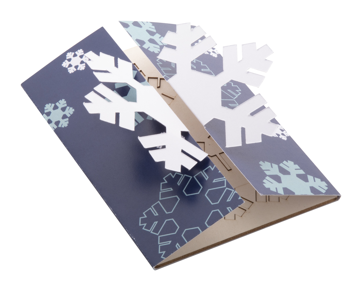 Creax Plus Christmas card, snowflake