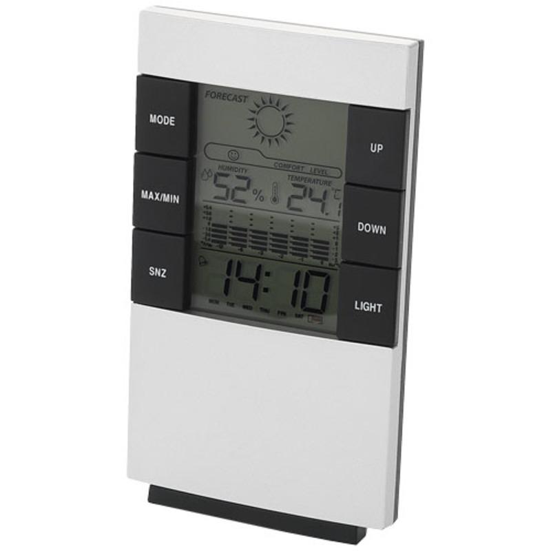Como desk weather station with alarm clock