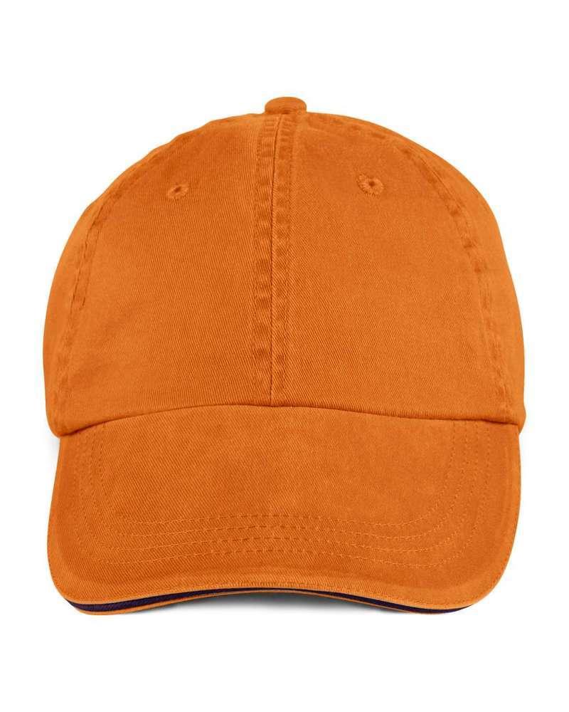 SOLID LOW-PROFILE SANDWICH TRIM TWILL CAP