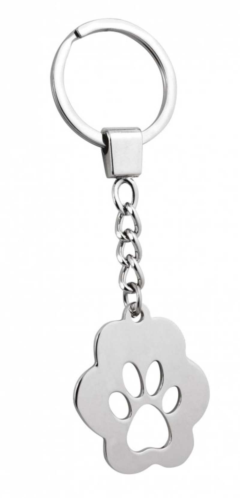 KEY CHAIN STEEL- PAW - NO BOX