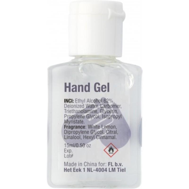 15ml Hand sanitizer gel.