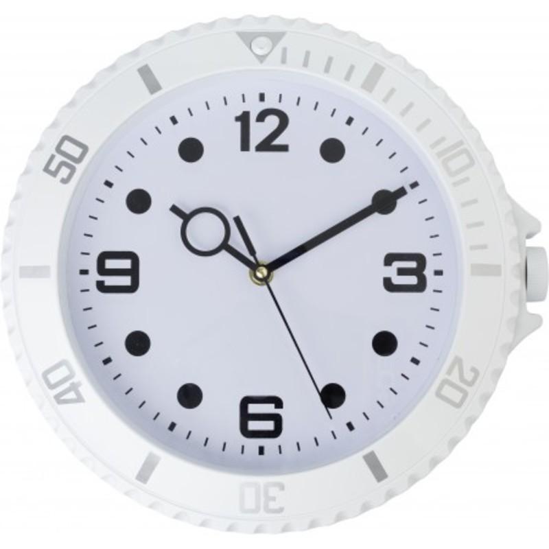 Plastic, modern wall clock