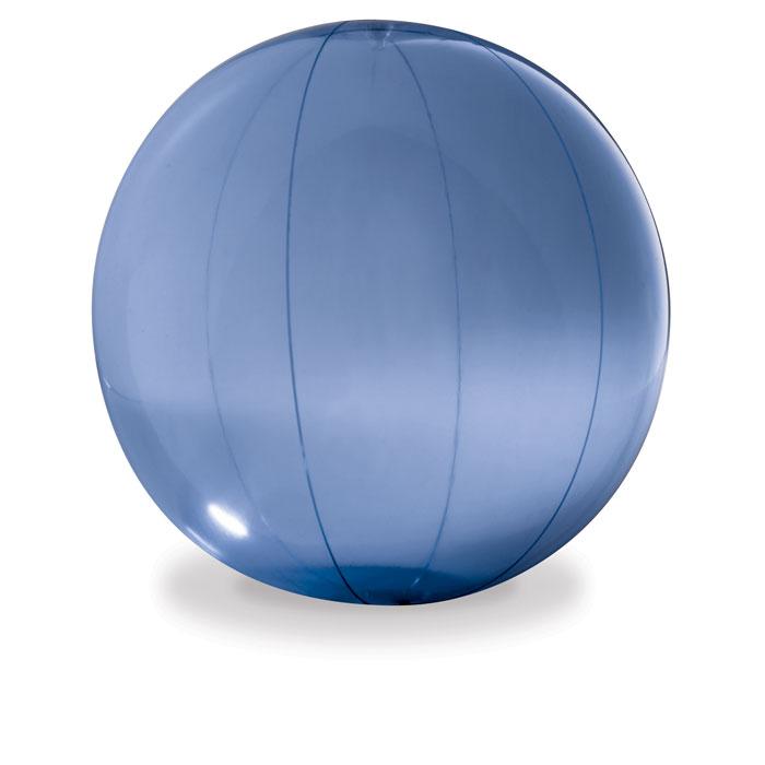 Transparent beach ball