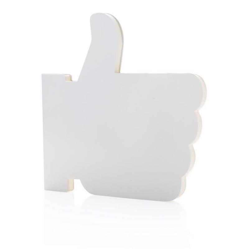 Like it shaped notebook