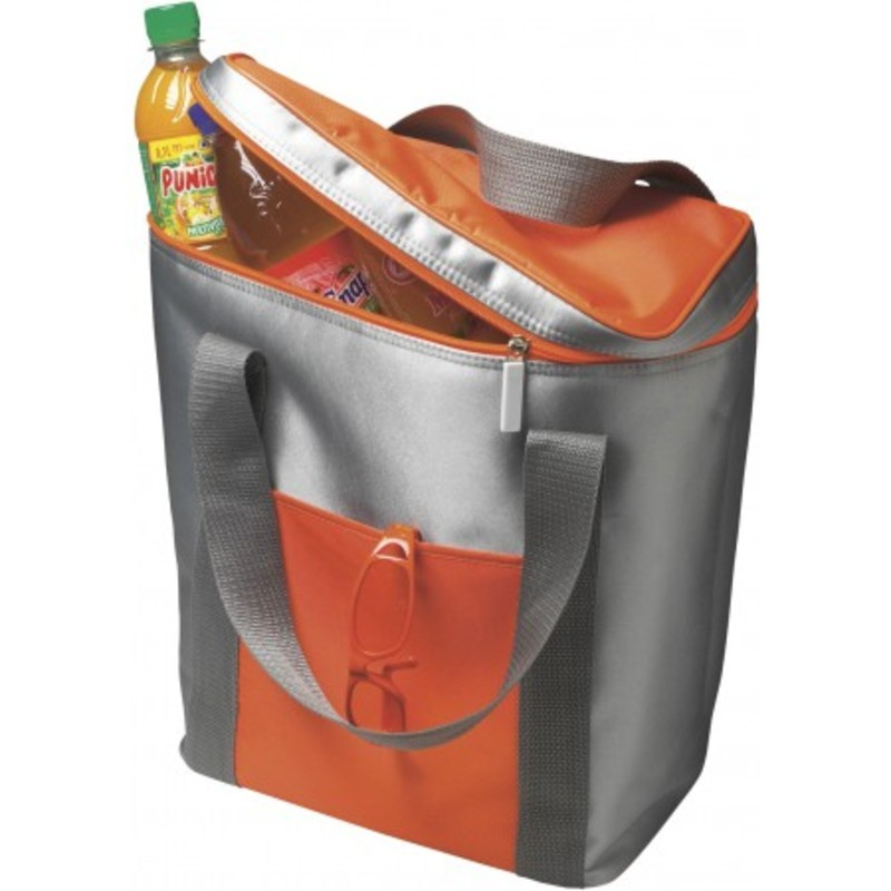 Polyester (420D) cooler bag for six bottles